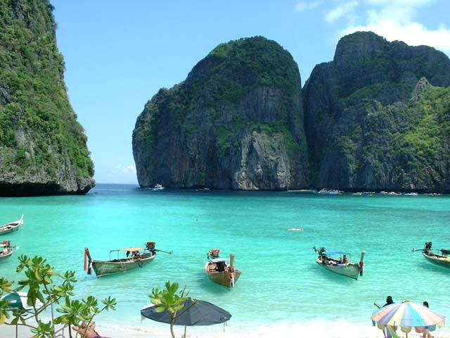 Maya Beach in PhiPhi Island, Thailand